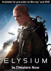 Elysium (Two Disc Combo: Blu-ray / DVD + UltraViolet Digital Copy)