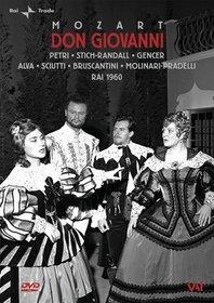 Mozart - Don Giovanni / Gencer, Stich-Randall, Petri, Bruscantini, Sciutti, Alva, Borst, Molinari-Pradelli, Milan
