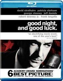 Good Night and Good Luck [Blu-ray]