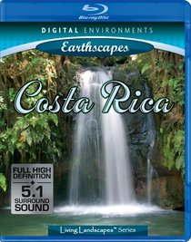 Living Landscapes: Earthscapes - Costa Rica [Blu-ray]