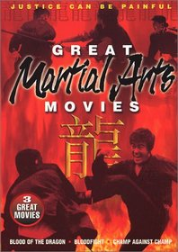 Great Martial Arts Movies (Blood Of The Dragon / Bloodfight / Champ Against Champ)