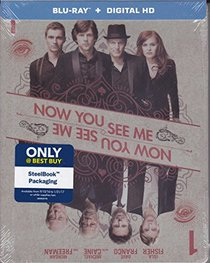 Now You See Me Exclusive Limited Edition Steelbook (Blu Ray + Digital HD)