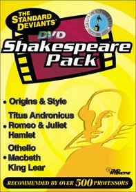 The Standard Deviants - DVD Shakespeare Pack