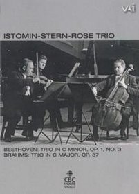 The Istomin-Stern-Rose Trio: Trios by Beethoven and Brahms