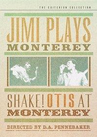 Jimi Plays Monterey/Shake! Otis at Monterey - Criterion Collection