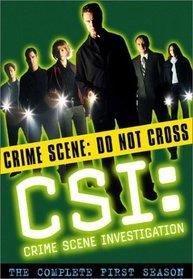 C.S.I. Crime Scene Investigation - The Complete First Season