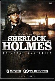 Sherlock Holmes: Greatest Mysteries (5 DVD Set)