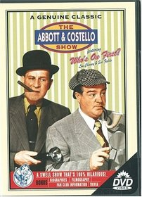 "The Abbott and Costello Show Featuring ""Who's on First?"" ""Don Juan Costello"" & ""Two Tens for a Five"""
