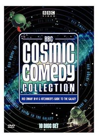 BBC Cosmic Comedy Collection (Red Dwarf III - VI / The Hitchhiker's Guide to the Galaxy) - (10 Disc Set)