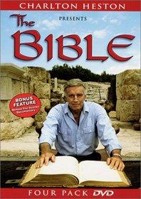 Charlton Heston Presents the Bible (Four Pack DVD)