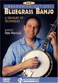 DVD-Branching Out on Bluegrass Banjo 1