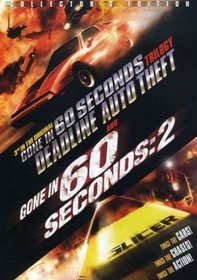 Deadline Auto Theft (1983) / Gone in 60 Seconds: 2 (1988) [Double Feature]