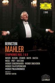 Mahler - Symphonies 7, 8 / Leonard Bernstein, Edda Moser, Judith Blegen, Gerti Zeumer, Ingrid Mayr, Agnes Baltsa, Kenneth Riegel, Hermann Prey, Jose van Dam, Wiener Philharmoniker