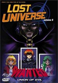 Lost Universe - Union of Evil (Vol 5)