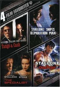 Sylvester Stallone: 4 Film Favorites (Tango & Cash / Demolition Man / The Specialist / Over the Top)