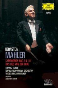 Mahler - Symphonies 9 and 10, Das Lied von der Erde / Leonard Bernstein, Christa Ludwig, Rene Kollo, Wiener Philharmoniker, Israel Philharmonic Orchestra