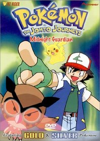 Pokemon - The Johto Journeys - Midnight Guardian (Vol. 40) (Silver Pack)