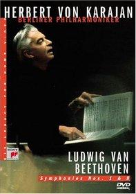Herbert Von Karajan - His Legacy for Home Video: Ludwig Van Beethoven - Symphonies  1 and 8
