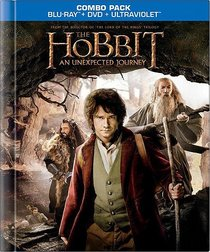 The Hobbit Blu-ray DigiBook (Blu-ray/DVD Combo+UltraViolet Digital Copy)