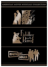 American Movie Musicals Collection: West Side Story/Fiddler on the Roof/Guys and Dolls
