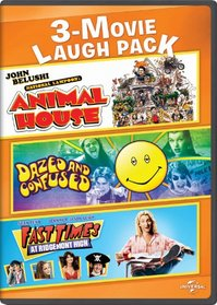 3-Movie Laugh Pack: National Lampoon's Animal House / Dazed and Confused / Fast Times at Ridgemont High