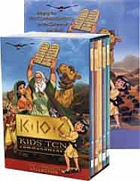 Kids Ten Commandments 5 DVD Set