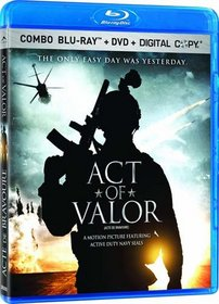 Act Of Valor (DVD+Blu-ray+Digital Combo) (Blu-ray)