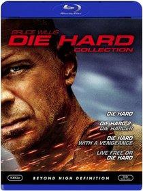 Die Hard Collection (Die Hard/ Die Hard 2: Die Harder/ Die Hard with a Vengeance/ Live Free or Die Hard) [Blu-ray]