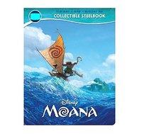 Disney Moana - Exclusive Steelboook (Blu-ray + DVD + Digital HD)