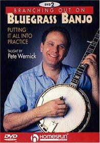 DVD-Branching Out on Bluegrass Banjo 2
