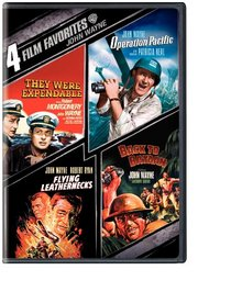 John Wayne Collection 4 Film Favorites (They Were Expendable / Operation Pacific / Flying Leathernecks / Back to Bataan)