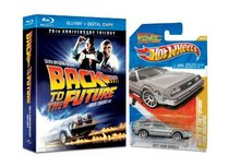 Back to the Future Trilogy with Hot Wheels® Back to the Future Time Machine [Blu-ray]