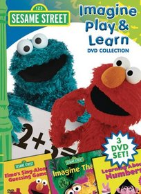 Sesame Street - Imagine Play and Learn (DVD Collection featuring Imagine That, Learning About Numbers, and Sing Along Guessing Game)