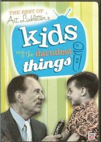 """The Best of Art Linkletter's Kids Say The Darndest Things (3-Disc Set: """"Best of..."""" Volumes 1, 2 & 3)"""