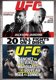 UFC 95 & 96: Sanchez vs. Stevenson / Jackson vs. Jardine