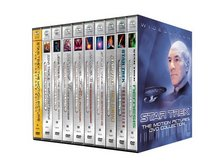 Star Trek: The Motion Pictures DVD Collection (Motion Picture/ Wrath of Khan/ Search for Spock/ Voyage Home/ Final Frontier/ Undiscovered Country/ Generations/ First Contact/ Insurrection/ Nemesis)