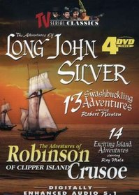 The Adventures of Long John Silver/The Adventures of Robinson Crusoe of Clipper Island