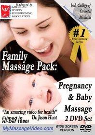 The New Family Massage Pack: Pregnancy Massage & Baby Massage 2 DVD set