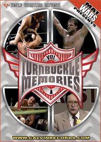 Mat Wars Presents: Turnbuckle Memories, Vol. 1