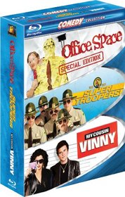 Comedy 3-Pack (Office Space / Super Troopers / My Cousin Vinny) [Blu-ray]