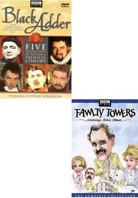 Black Adder / Fawlty Towers - Complete Collection (2 Pack Boxset)