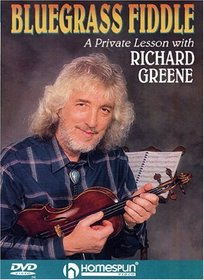 DVD-Bluegrass Fiddle A Private Lesson with Richard Greene