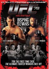 Ultimate Fighting Championship, Vol. 78: Validation