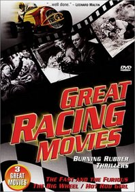 Great Racing Movies (The Fast And The Furious / The Big Wheel / Hot Rod Girl)