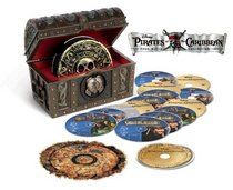Pirates of the Caribbean Four-Pack Collection (15-Disc Combo Pack) [Blu-ray]