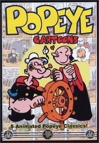 Popeye Cartoons - 8 Animated Popeye Classics!