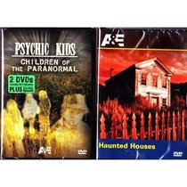 Psychic Kids Complete First Season Box Set , Haunted Houses : A&E Paranormal 2 Pack - 3 Disc Collection