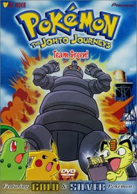Pokemon Johto Journeys - Team Green (Vol. 45)