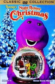 BARNEY'S NIGHT BEORE CHRISTMAS