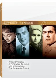 Classic Quad Set 3 (Anna Karenina / A Farewell to Arms / Les Miserables / The Sun Also Rises)